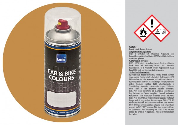 Acryllack in RAL Classic 1024 Ockergelb