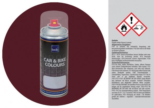 Acryllack in RAL Design 0102020 Dunkelmahagoni