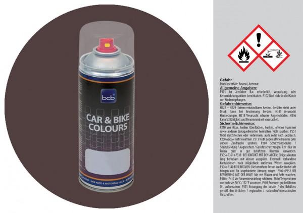 Acryllack in RAL Design 0203005 Rhodonitbraun