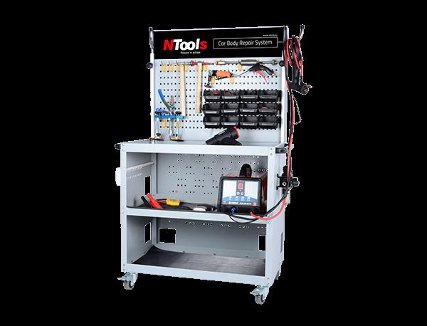 NTools CAR BODY REPAIR SYSTEM Aluminium - Blechreparatur System