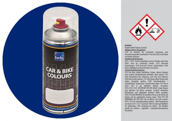 Acryllack in RAL Classic 5010 Enzianblau
