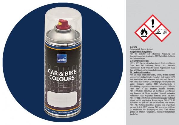 Acryllack in RAL Classic 5026 Perlnachtblau