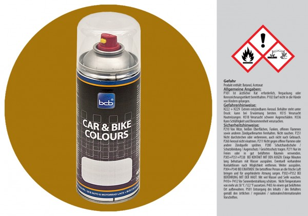 Acryllack in RAL Classic 1027 Currygelb