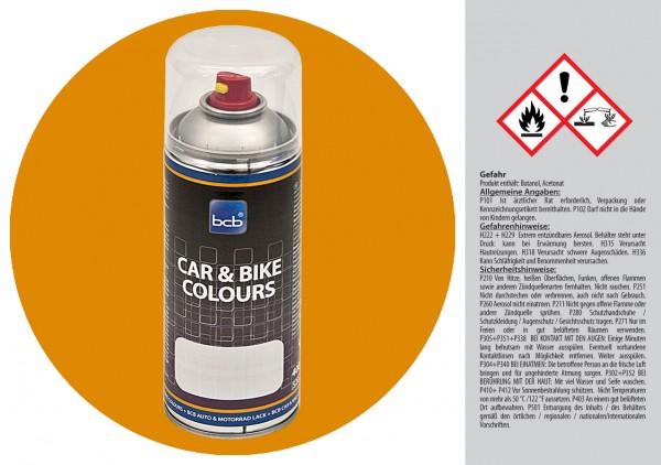 Acryllack in RAL Classic 1005 Honiggelb
