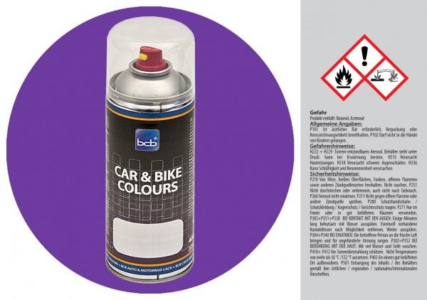 Acryllack in RAL Classic 4005 Blaulila