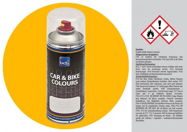 Acryllack in RAL Classic 1023 Verkehrsgelb