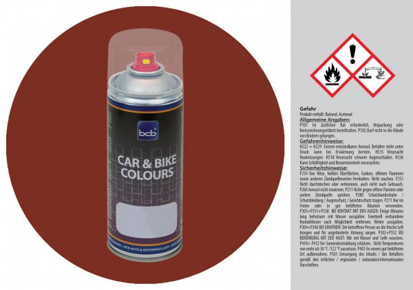 Acryllack in RAL Design 0403030 Wurzelbraun