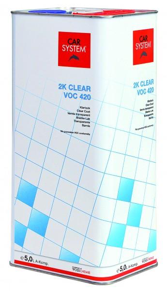 2K Klarlack Clear VOC 420 - 5L