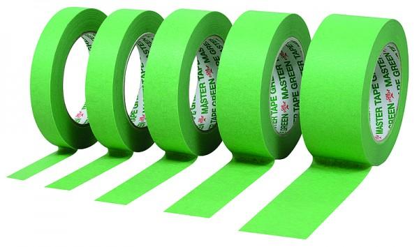 Abdeckband 110°C wasserfest Master Tape Green 30mm