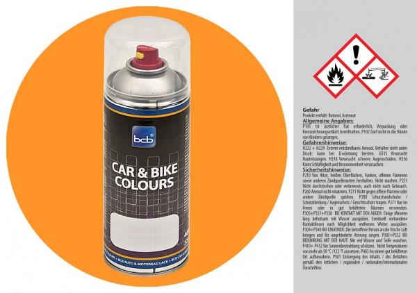 Acryllack in RAL Classic 1033 Dahliengelb