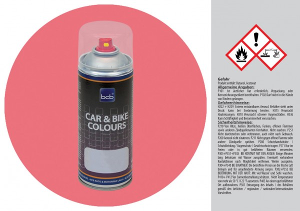 Acryllack in RAL Design 0206040 Lotusrot