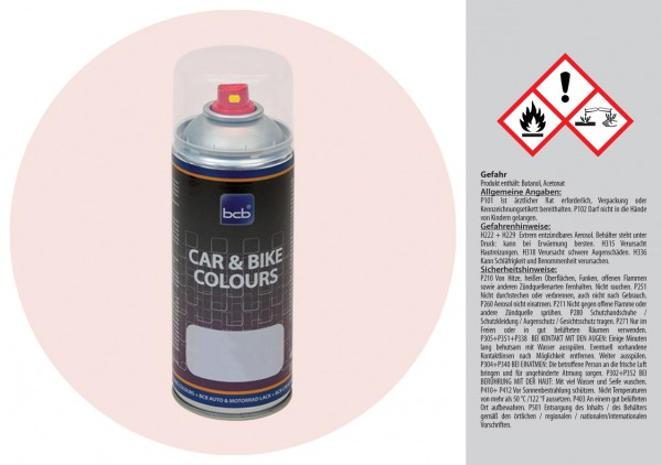 Acryllack in RAL Design 0209005 Muschelweiss