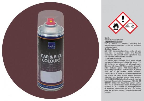 Acryllack in RAL Design 0203010 Budapesterbraun