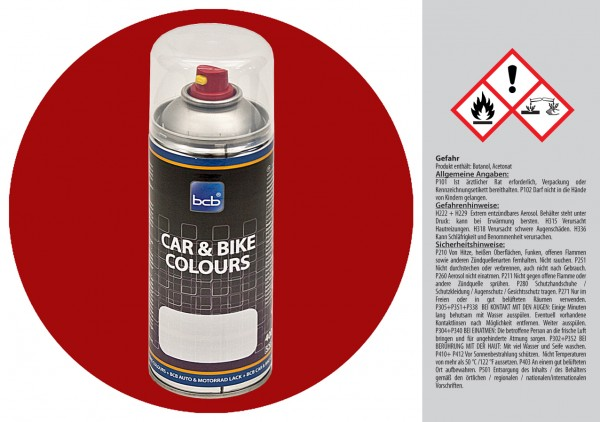 Acryllack in RAL Classic 3003 Rubinrot