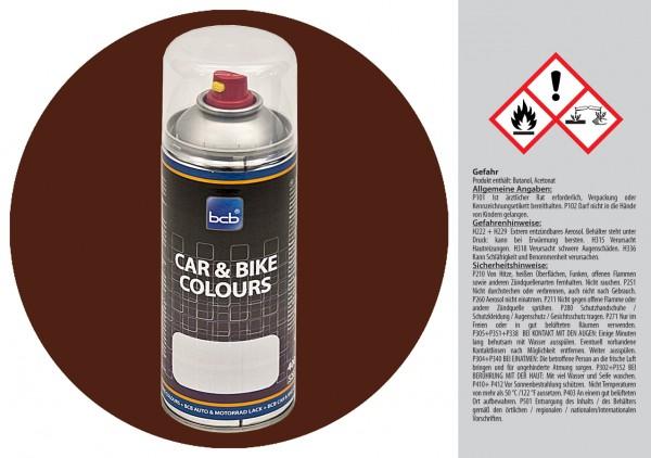 Acryllack in RAL Classic 8011 Nussbraun
